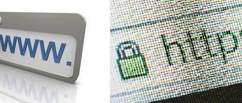 نشانه های سایت های رمز گذاری شده :